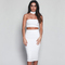 Online shop women two piece outfits high waist elastic midi party dress backless vintage sexy club dress 2016 maxi bodycon summer dress|aliexpress mobile