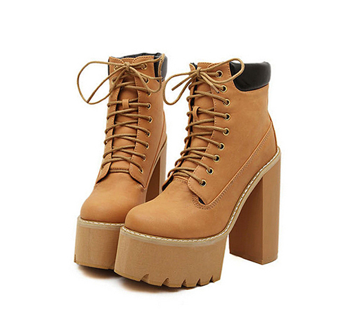 The high punk boots