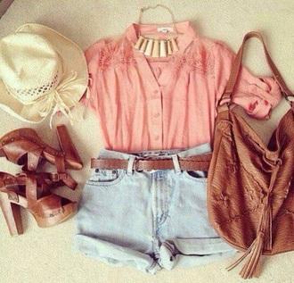 bag cute bag brown bag style help blouse