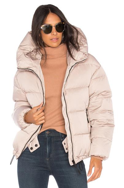 Soia & Kyo jacket puffer jacket beige
