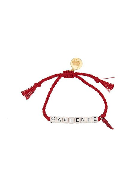 women cotton red jewels