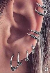 jewels,hippie,boho,earrings