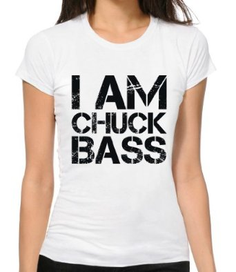 I Am Chuck Bass Funny Slogan T-Shirt Damen: Amazon.de: Bekleidung
