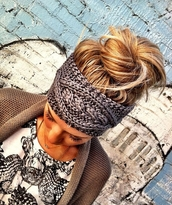 scarf,headband,knit,t-shirt,grey,black,hat,hipster,silver,headwrap,wool hat,knitted headband,grey hat,fashion,knitwear,hair accessory,winter sports,ear warmers