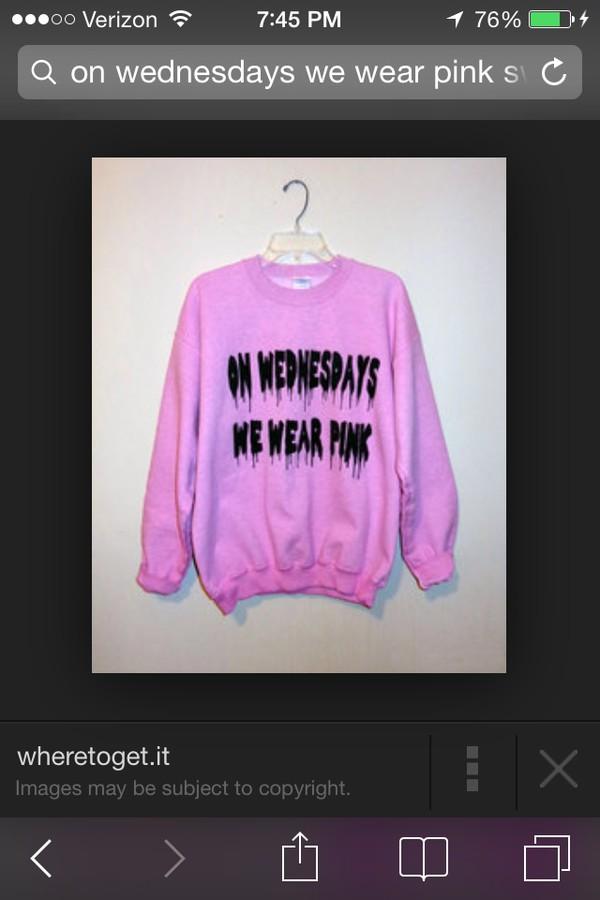 wednesdays mean girls pink