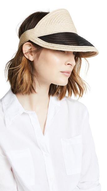 Eugenia Kim Vicky Hat in black / natural