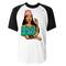 Pecahontas twerk baseball t-shirt - basic tees shop