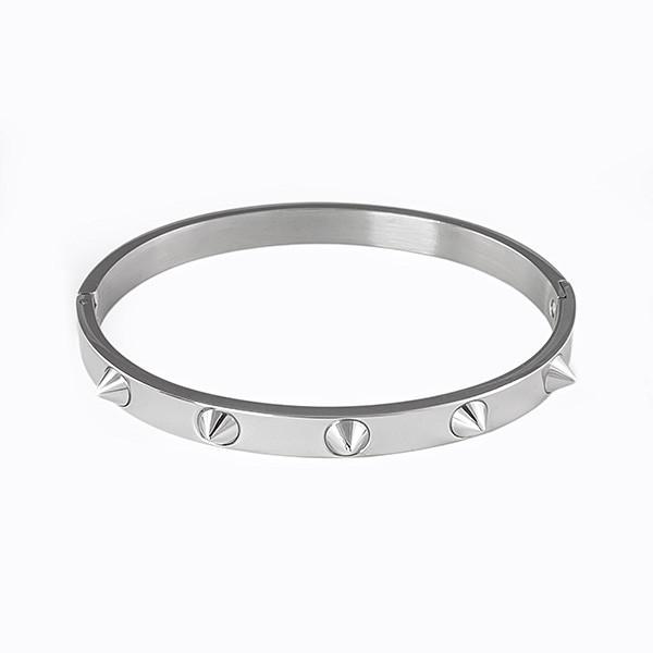 jewels titanium stainless steel spikes bangle stainless steel spikes bangle