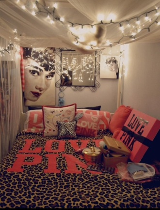 home accessory audrey hepburn fairy lights room accessoires victoria's secret pink by victorias secret tumblr