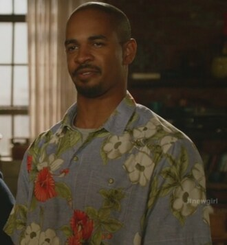 shirt coach new girl floral shirt damon wayans jr menswear mens shirt