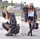 shoes,black shoes,over the knee boots,boots,thigh-high boots,black knee high boots,coat