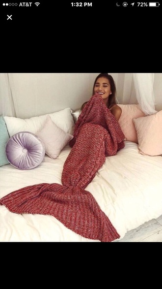 mermaid comfy home accessory blanket cozy