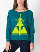sweater,legend of zelda