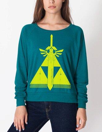 sweater legend of zelda