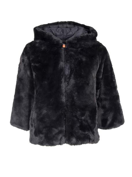 Save The Duck jacket hooded jacket black