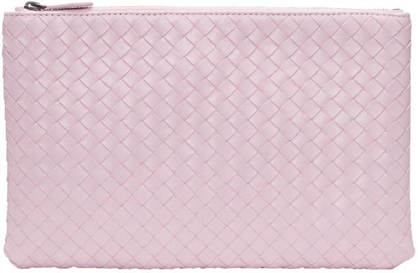 Bottega Veneta pouch pink bag