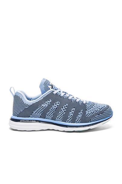 Athletic Propulsion Labs: APL Techloom Pro Sneaker in blue