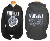 nirvana,nirvana hoodie,grunge,90s style,nirvana sweatshirt,kurt cobain