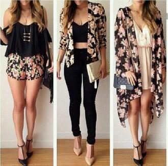 jacket blouse jewels