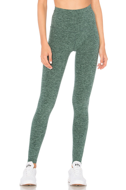 Beyond Yoga green pants