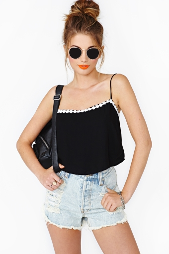 Daisy Chain Crop Tank  in  What's New at Nasty Gal