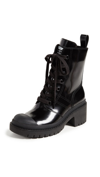 Marc Jacobs Bristol Laced Up Boots in black