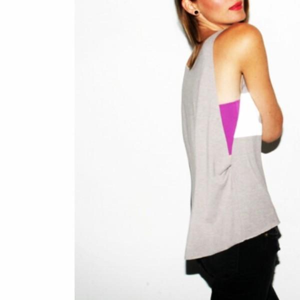 tank top top tank top warm party clubwear clubwear grey grey beige beat addiction print print MINTFIELDS