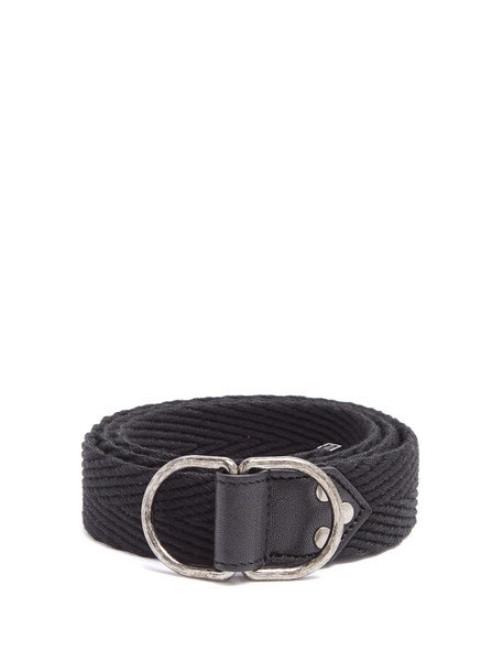 Saint Laurent belt leather black