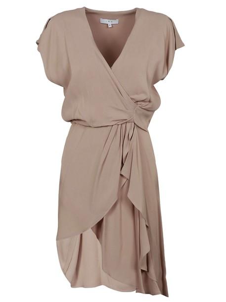 Iro dress draped dress draped nude