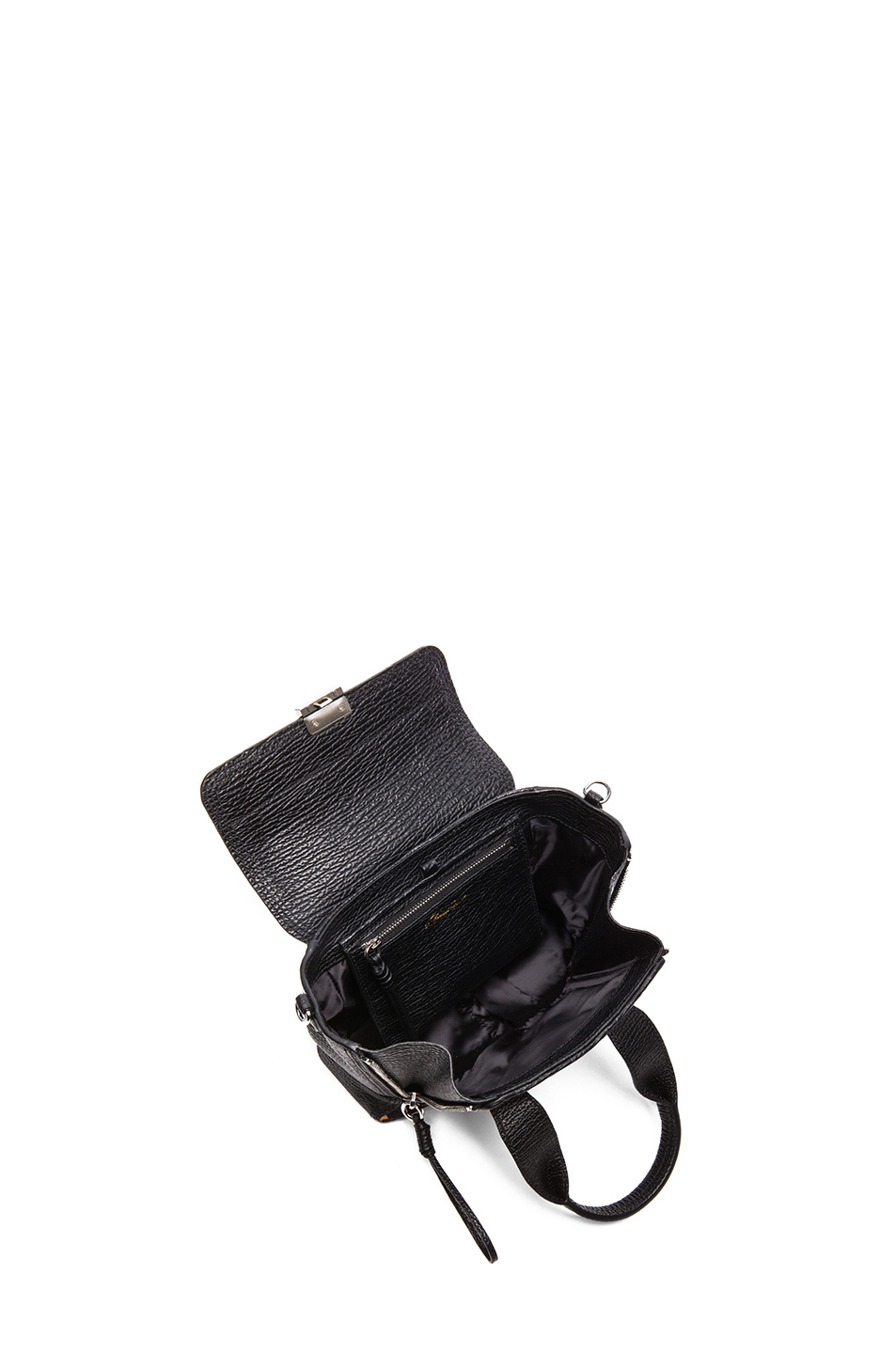3.1 phillip lim|Mini Pashli Satchel in Natural & Black