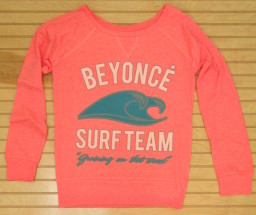 Long sleeve shirt beyonce surf team