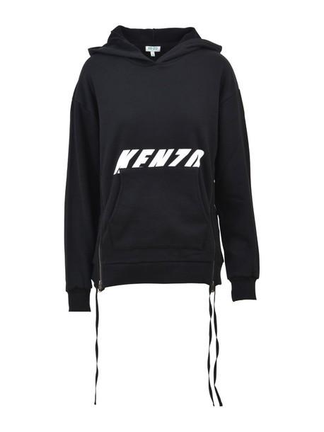 Kenzo hoodie black hoodie black sweater
