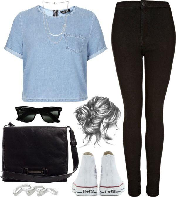 jeans bag converse pocket t-shirt sunglasses