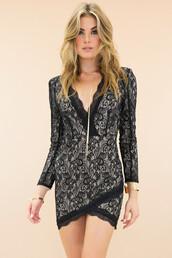 lace dress,black lace dress,little black dress,haute & rebellious,going out dress,sexy dress,jewels