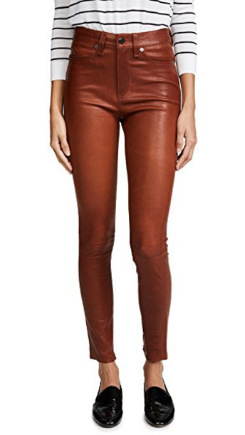 Veronica Beard Jean pants leather pants leather