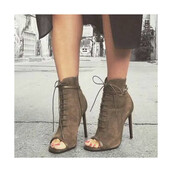 shoes,suede,open toes,fsjshoes