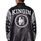 Tyga t raww original last kings rag bandana street wear satin button up jacket - last kings - men