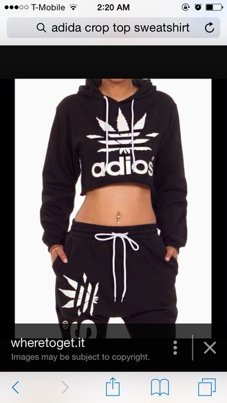 sweater black and white adidas sweater