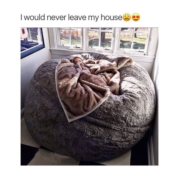 Home Accessory Cozy And Warm Bean Bag Iwantthis