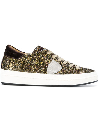 glitter women sneakers lace leather yellow orange shoes