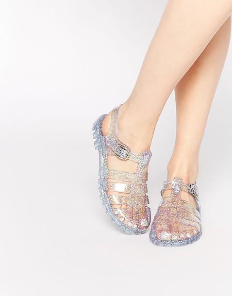 Clear Flip Flops Womens Shoes