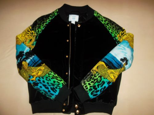 Versace for H M Velvet Bomber Jacket Men Size M Brand New RARE | eBay