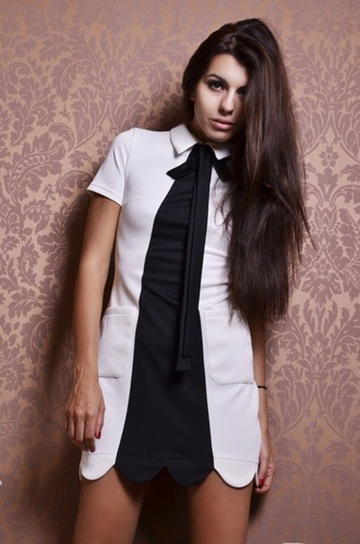 blouse peter pan collar dress