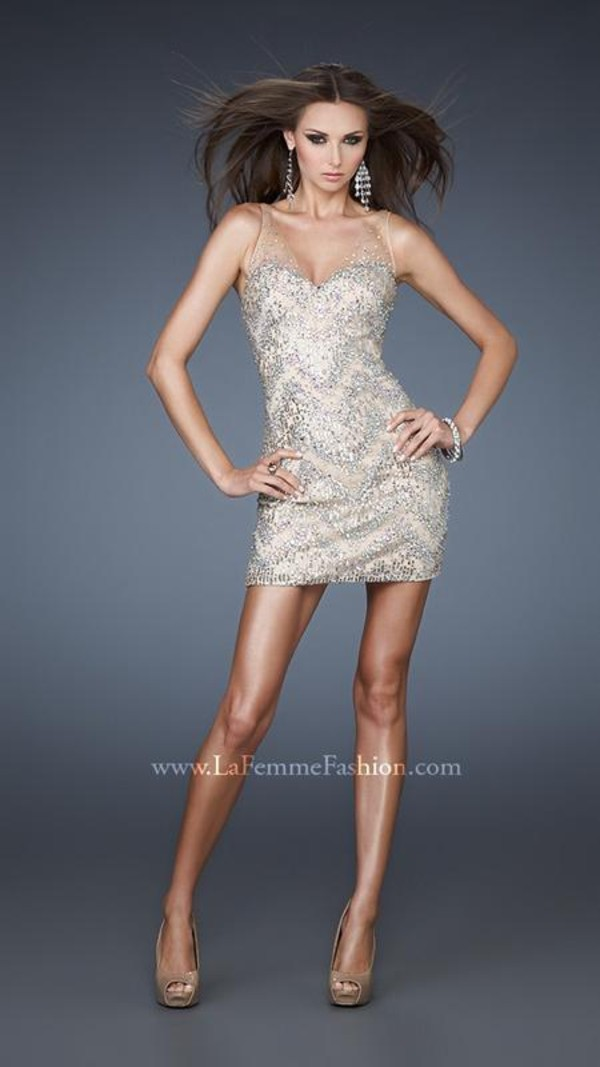 dress sequin dress prom dress homecoming dress bodycon dress adorn la femme