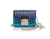 bag,furla,mini bag,multicolor,crossbody bag,chain bag