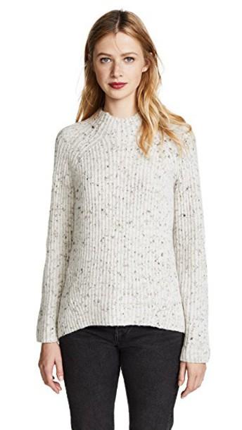 Madewell sweater bunny snow