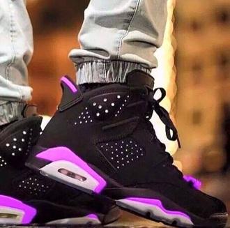 shoes purple jordans cute dope nail accessories