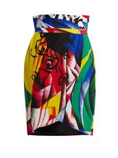 skirt,print,silk