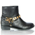 Metal Detail Ankle Boots