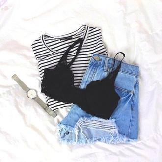 underwear lace lace bra cute bra blouse